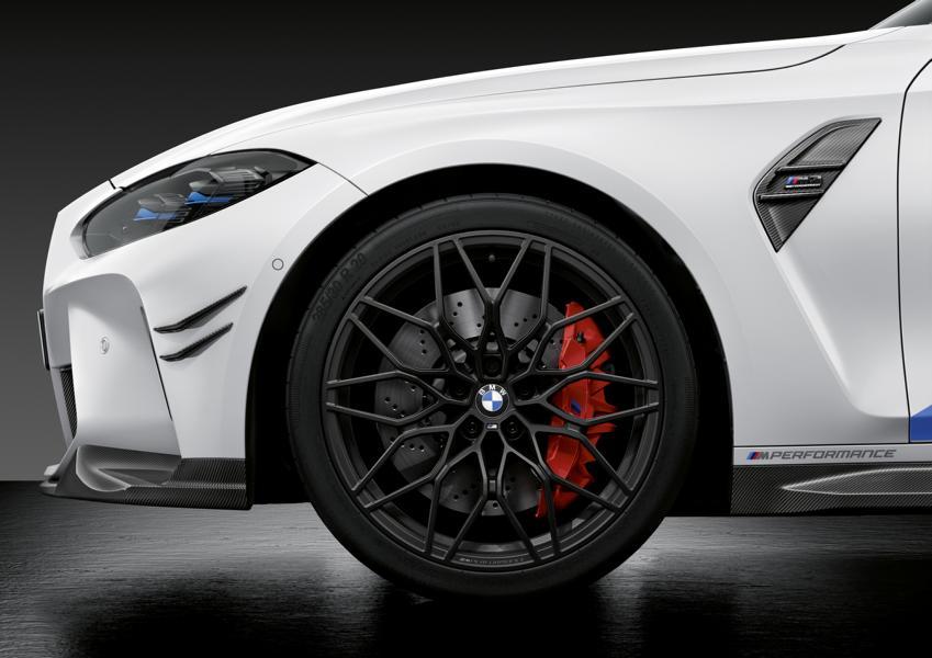 2020 M Performance Parts BMW M4 M3 G80 G82 Tuning 7 2020 M Performance Parts für den neuen BMW M4 & M3!