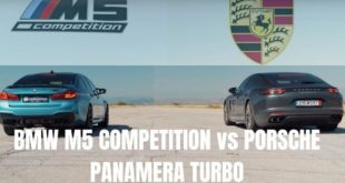 2020 Porsche Panamera Turbo vs. BMW M5 Competition 310x165 Video: 2020 Porsche Panamera Turbo vs. BMW M5 Competition