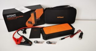 AUTOWIT Super Cap 2 Jump Starter Test Head 310x165 Test report: Install the slim spoiler lip / rear spoiler!