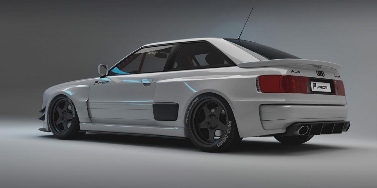 Audi Coupe Widebody Aero Kit LIMITED Prior Design B3 Tuning 7 Audi 80 B3 Coupe Widebody Aero Kit / LIMITED by Prior!