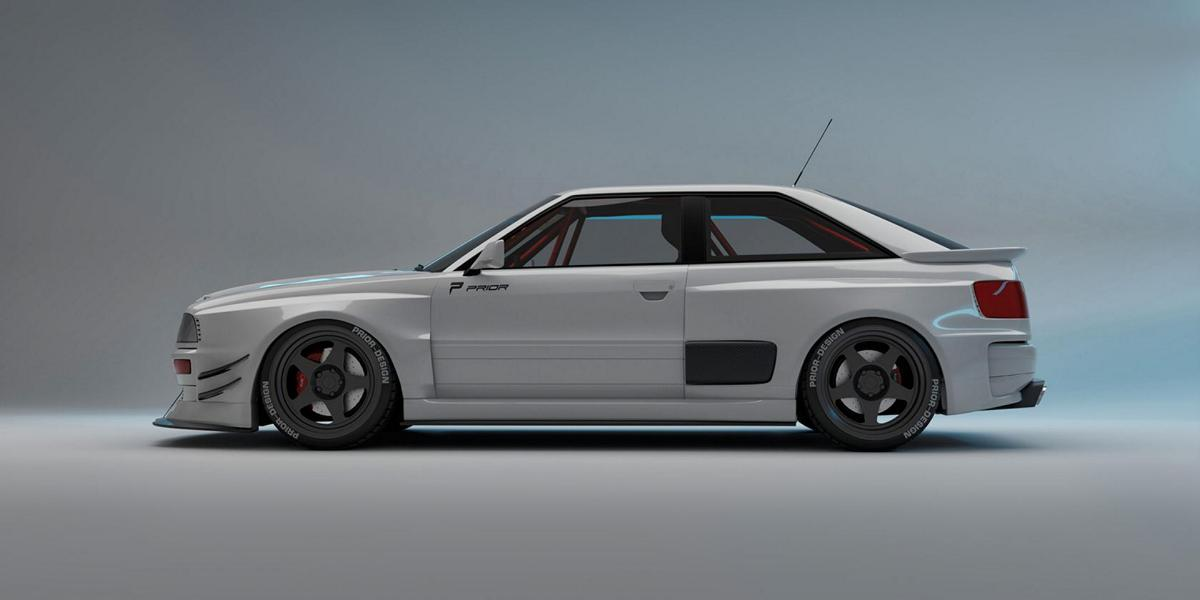 Audi Coupe Widebody Aero Kit LIMITED Prior Design B3 Tuning 9 Audi 80 B3 Coupe Widebody Aero Kit / LIMITED by Prior!