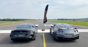 BMW M8 Performance Litchfield Nissan GT R 310x165 Video: Litchfield Nissan GT R vs. BMW M8 Competition!