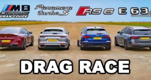 BMW M8 vs Audi RS6 vs Mercedes E63s vs Porsche Panamera 310x165 Video: BMW M8 vs Audi RS6 vs Mercedes E63s vs Porsche Panamera