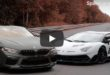 BMW M8 vs. 800 PS Lamborghini Aventador SVJ 110x75 Video: +800 PS BMW M8 vs. +800 PS Lamborghini Aventador SVJ!