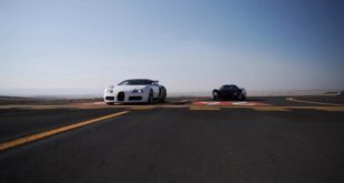 Bugatti Veryon im Drag race gegen den SSC Tuatara 310x165 Video: Litchfield Nissan GT R vs. BMW M8 Competition!