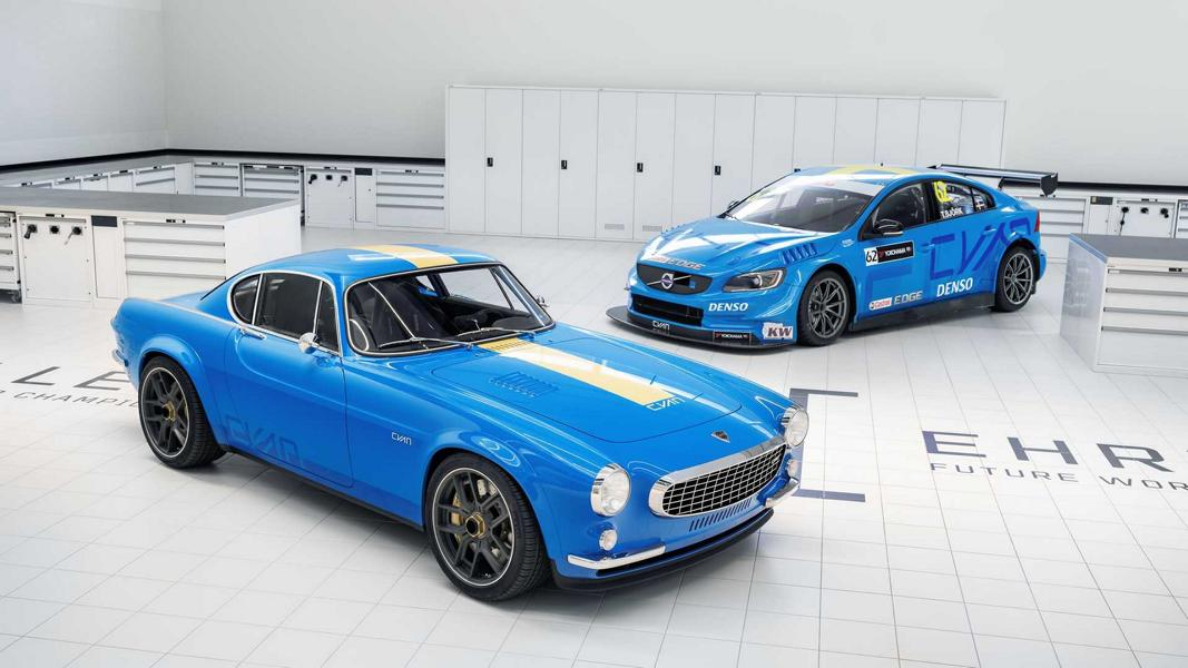 Cyan Polestar Restomod Volvo P1800 Coupe Tuning 15 Restomod Volvo P1800 Coupe mit 419 PS Vierzylinder!