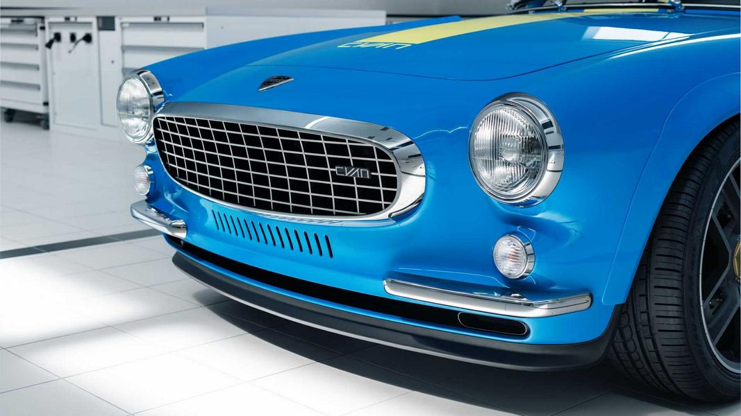 Cyan Polestar Restomod Volvo P1800 Coupe Tuning 18 Restomod Volvo P1800 Coupe mit 419 PS Vierzylinder!