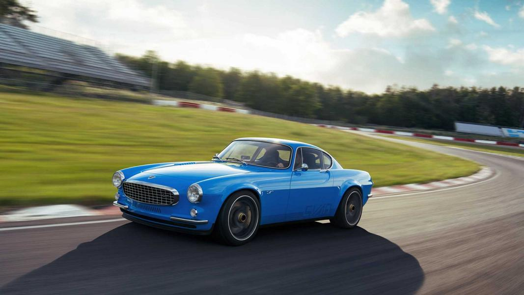 Cyan Polestar Restomod Volvo P1800 Coupe Tuning 22 Restomod Volvo P1800 Coupe mit 419 PS Vierzylinder!