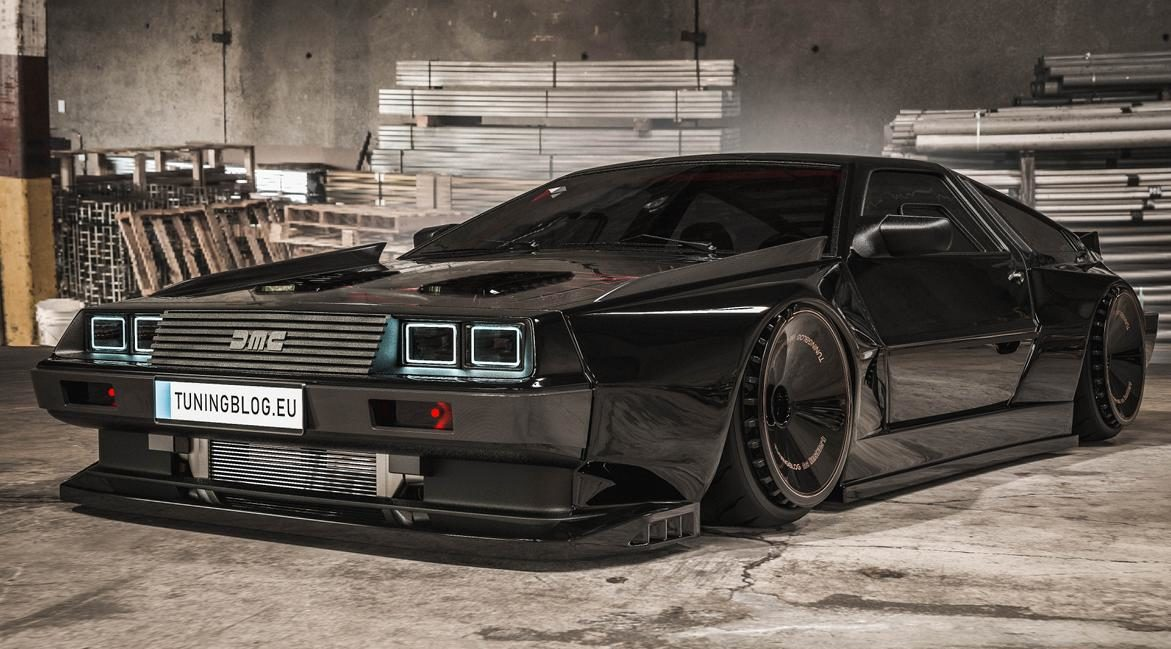 DeLorean DMC 12 Widebody 2JZ Power 8 e1600688866522 DeLorean DMC 12 Widebody with 1.150 PS 2JZ Power!
