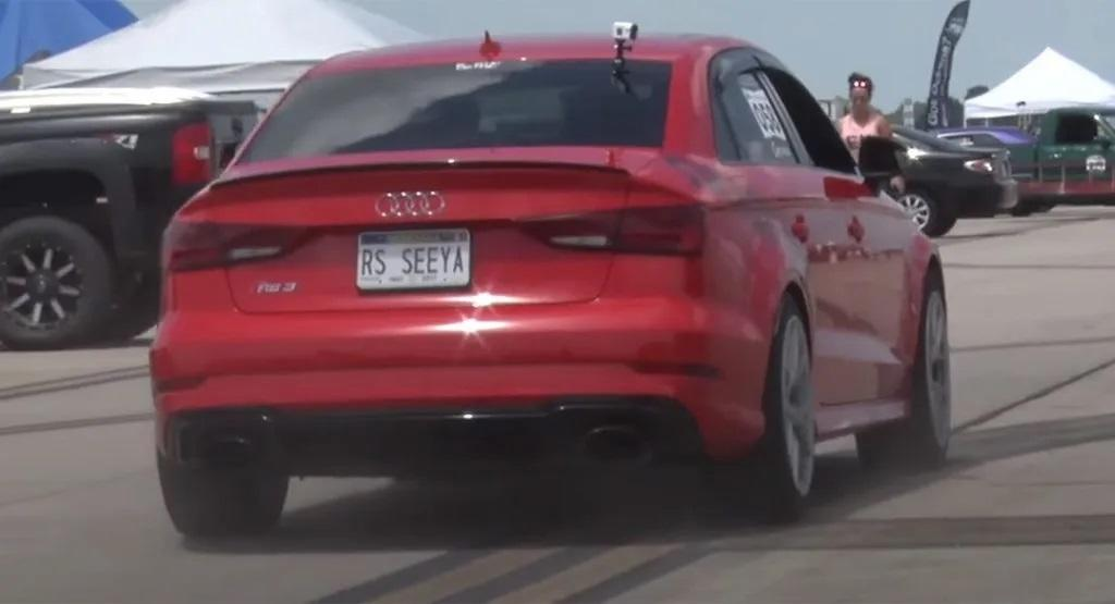 Extrem Sleeper Audi RS3 Limousine mit 900 PS Video: Extrem   Sleeper Audi RS3 Limousine mit 900 PS!