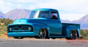Ford F 100 V8 BMW Snapper Rocks Blue Restomod Tuning Speedtech Header 310x165 Ford F 100 mit 650 PS und BMW Snapper Rocks Blue Lackierung!