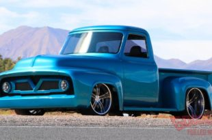 Ford F 100 V8 BMW Snapper Rocks Blue Restomod Tuning Speedtech Header 310x205 Ford F 100 mit 650 PS und BMW Snapper Rocks Blue Lackierung!