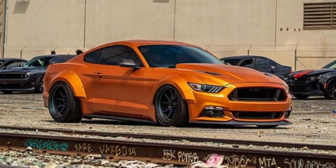 "Mächtiges Teil – Ford Mustang Widebody ""Orange Coyote"""