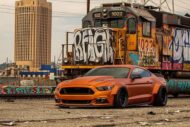 Ford Mustang Widebody Orange Coyote 4 190x127 Mächtiges Teil   Ford Mustang Widebody Orange Coyote