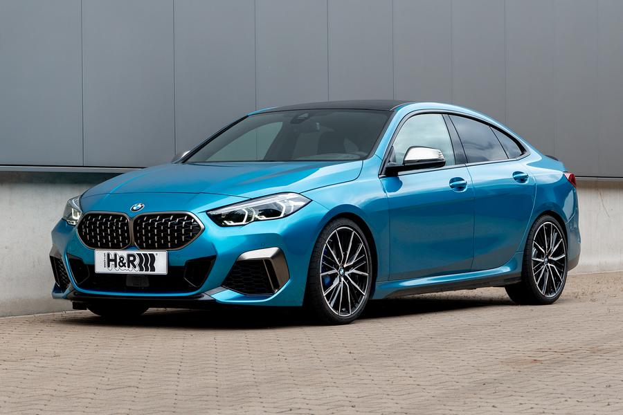 HR sport springs 2 series BMW Gran Coupe xDrive Tuning 2 Handling meets traction: H&R sport springs also for the 2 series BMW Gran Coupe xDrive