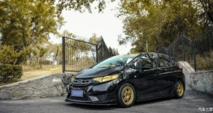 Honda Jazz Stance Tuning Enkei rims 3 310x165 Honda Jazz with Stance Tuning, Enkei rims and a crazy look.