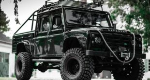 Land Rover Defender James Bond Spectre Umbau Tuning 1 310x165 Video: Land Rover Defender mit James Bond Allüren!