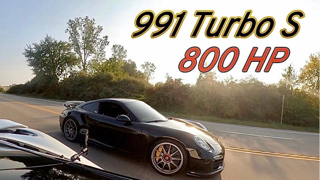 McLaren 720S vs. 800 PS Porsche 911 Turbo S Video: McLaren 720S vs. 800 PS Porsche 911 Turbo S!