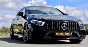 Mercedes Benz CLS C257 Tuning mariani Car Styling Head 310x165 Edel   Mercedes Benz CLS vom Tuner mariani Car Styling!