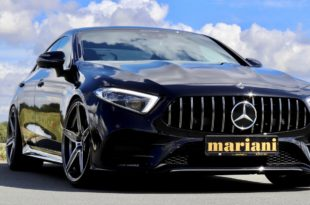 Mercedes Benz CLS C257 Tuning mariani Car Styling Head 310x205 Edel   Mercedes Benz CLS vom Tuner mariani Car Styling!