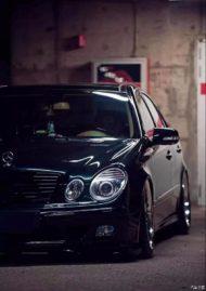 Mercedes E Klasse W211 Work Emitz Felgen VIP Tuning 4 190x269 Mercedes E Klasse (W211) auf Work Emitz Felgen mit VIP Tuning.