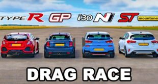 Mini JCW GP vs. Honda Type R Hyundai i30 N Ford Focus ST 310x165 Video: Mini JCW GP vs. Honda Type R, Hyundai i30 N & Ford Focus ST