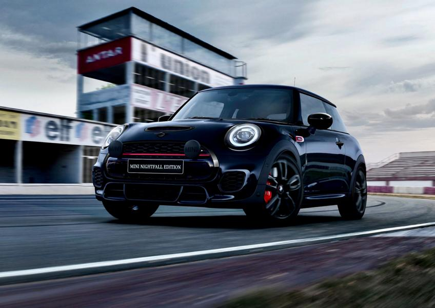 Mini John Cooper Works special model Nightfall Edition 1 Mini JCW special model Nightfall Edition for Down Under!