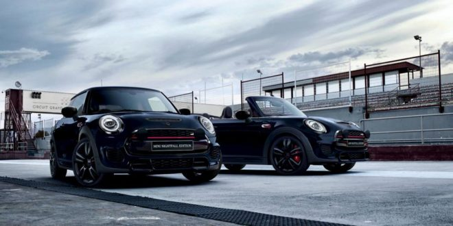 "Mini JCW Sondermodell ""Nightfall Edition"" für Down Under!"