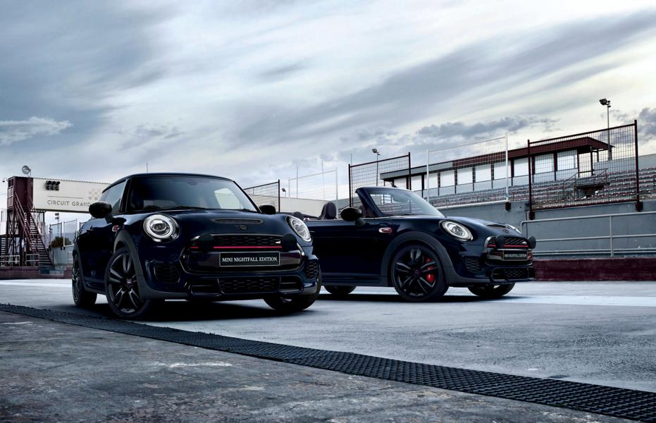 Mini John Cooper Works special model Nightfall Edition 6 Mini JCW special model Nightfall Edition for Down Under!