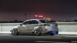 Mitsubishi Lancer Evo X widebody kit Liberty Walk Tuning 11 155x87 Mitsubishi Lancer Evo X with widebody kit from Liberty Walk