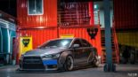 Mitsubishi Lancer Evo X widebody kit Liberty Walk Tuning 13 155x87 Mitsubishi Lancer Evo X with widebody kit from Liberty Walk