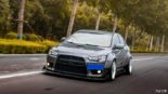 Mitsubishi Lancer Evo X widebody kit Liberty Walk Tuning 23 155x87 Mitsubishi Lancer Evo X with widebody kit from Liberty Walk