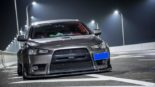 Mitsubishi Lancer Evo X widebody kit Liberty Walk Tuning 3 155x87 Mitsubishi Lancer Evo X with widebody kit from Liberty Walk