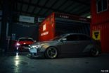 Mitsubishi Lancer Evo X widebody kit Liberty Walk Tuning 5 155x103 Mitsubishi Lancer Evo X with widebody kit from Liberty Walk
