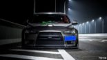 Mitsubishi Lancer Evo X widebody kit Liberty Walk Tuning 9 155x87 Mitsubishi Lancer Evo X with widebody kit from Liberty Walk