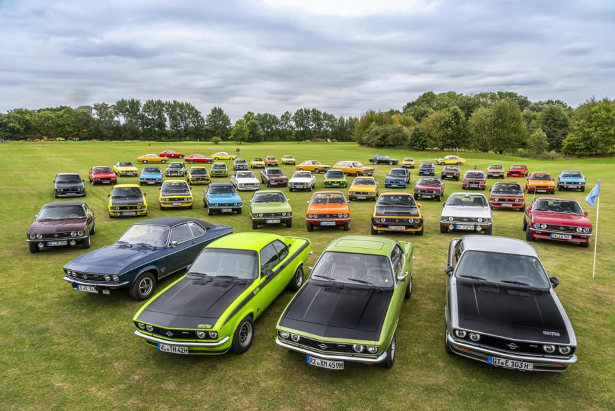 Opel Manta Timmendorfer Strand 50 Years of Tuning 18 Like 1970 The Opel Manta is celebrating on Timmendorfer Strand!