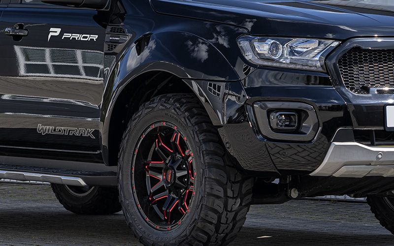 Prior Design PD Widebody Kit Ford Ranger Pickup Tuning 2 Prior Design: PD Widebody Kit für Ford Ranger Pickup!