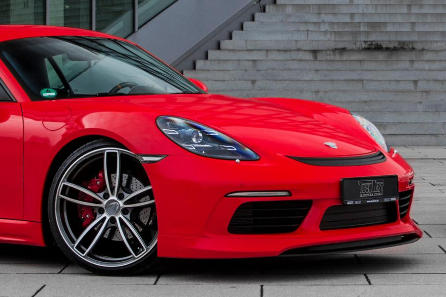 TECHART GT Package Porsche 718 Cayman Tuning 9 TECHART GT Package for the current Porsche 718 Cayman!