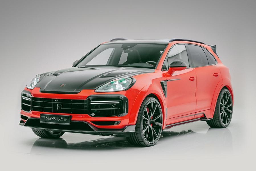 Widebody Porsche Cayenne SUV Tuner Mansory 2020 Tuning 1 Widebody Porsche Cayenne SUV vom Tuner Mansory!