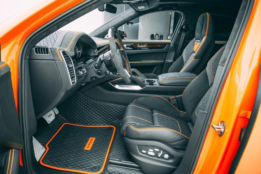 Widebody Porsche Cayenne SUV Tuner Mansory 2020 Tuning 6 Widebody Porsche Cayenne SUV vom Tuner Mansory!
