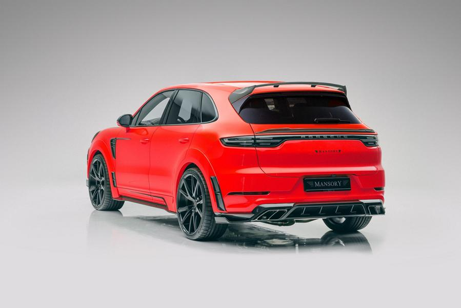 Widebody Porsche Cayenne SUV Tuner Mansory 2020 Tuning 7 Widebody Porsche Cayenne SUV vom Tuner Mansory!
