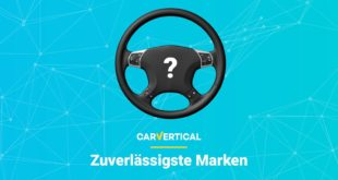 most reliable car brands carVertical 310x165 The most reliable car brands according to carVertical!