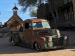 1946 Ford F 1 Pickup Rat Harley Davidson Summer Tuning 23 155x116 1946 Ford F 1 Pickup as a rat with Harley Davidson!