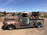 1946 Ford F 1 Pickup Rat Harley Davidson Summer Tuning 30 155x116 1946 Ford F 1 Pickup as a rat with Harley Davidson!