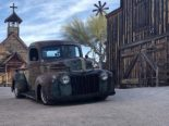 1946 Ford F 1 Pickup Rat Harley Davidson Summer Tuning 33 155x116 1946 Ford F 1 Pickup as a rat with Harley Davidson!