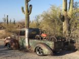 1946 Ford F 1 Pickup Rat Harley Davidson Summer Tuning 43 155x116 1946 Ford F 1 Pickup as a rat with Harley Davidson!