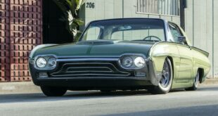 1963er Ford Thunderbird Restomod mit 64 Liter V8 Head 310x165 Restaurierter 1973er International Scout II mit GM V8!