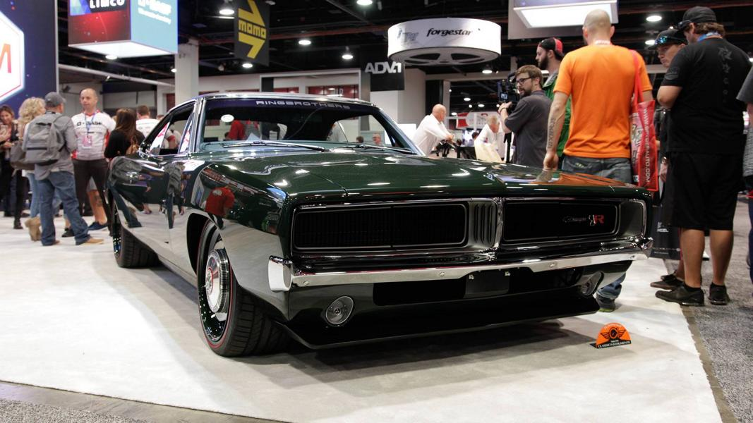 1969 Ringbrothers Charger Defector SEMA 2017 Restomod Tuning 14 Ringbrothers Defector 2.0 mit 1.000 PS Hellephant 426 Power