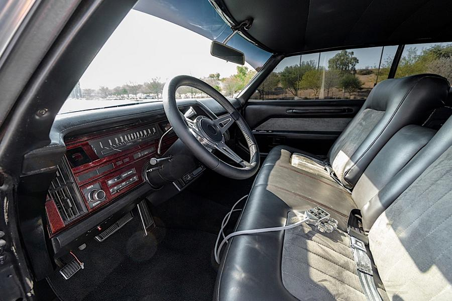 1970 Cadillac Coupe DeVille Restomod 13 Back to black   1970 Cadillac Coupe DeVille Restomod!