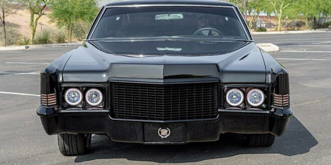 Back to black – 1970 Cadillac Coupe DeVille Restomod!